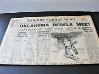 Lansing Capital News-Oklahoma Rebels,Lancing, Mich., December 13,1927 Newspaper.