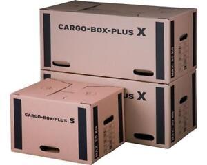 Umzugskarton CARGO BOX X mit sicherem Schmetterlingsboden 660 x 350 x 360 mm