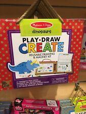 Melissa & Doug Play Draw Create Dinosaurs