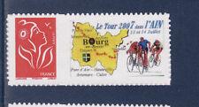 personnalisé marianne Lamouche TVP rouge  NUM 3802Ab  cyclisme tour de l'ain **
