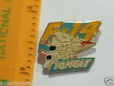 Vintage F-14 Tomcat Fighter Jet Aircraft Pin , (**) ADV