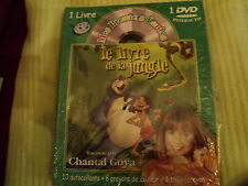 "DVD INTERACTIF NF ""LE LIVRE DE LA JUNGLE"" Chantal GOYA"