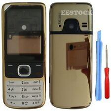 Gold Fascia Full Housing Case Cover Metal for Nokia 6700 Classic 6700C +Tools