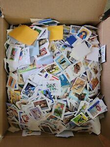 Australia 4.3kg Kiloware Unreserved! Bulk Stamps Postmarks Used Estate Lots