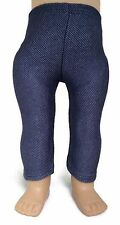 "Stretch Denim Leggings made for 18"" American Girl Doll Clothes"