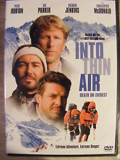 Into Thin Air: Death on Everest (DVD, 2001) BRAND NEW!