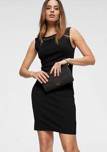 Laura Scott Abendkleid Cocktailkleid mit Zierperlen, schwarz. NEU!!! KP 59,99 €