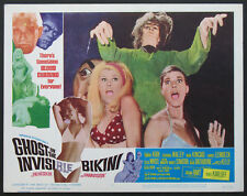 GHOST IN THE INVISIBLE BIKINI BEACH BUNNY HORROR 1966 BEST MONSTER LOBBY CARD #6