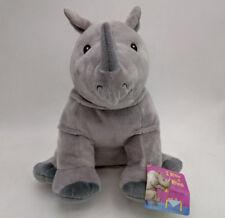 "Kohl's Rhino I Know a Rhino 11""stuffed plush new"