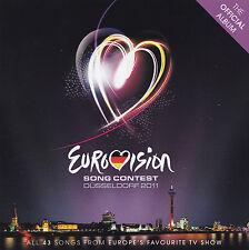 EUROVISION SONG CONTEST - 2 CD - DÜSSELDORF 2011