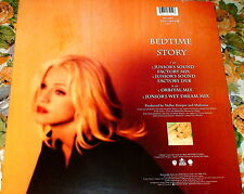 "MADONNA BEDTIME 12"" VINYL EP MADE IN GERMANY WO285T ORBITAL & JUNIOR SOUND NO LP"