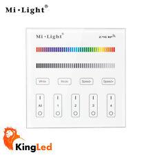 Controller da Parete Touch Mi Light 2.4GHz 4Zone per RGB RGBW Dimmer Mod B3 2205