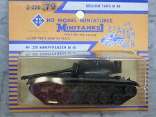 Roco Minitanks / Herpa (NEW) Modern M-48 Medium  Main Battle Tank Lot #869K
