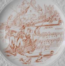 LOVELY MOTTAHEDEH METROPOLITAN OPERA NEW YORK MIGNON THEME CABINET DESSERT PLATE
