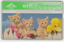 BT Commemorative 135 Spring in the Air, Cats - Kittens, 50u Mint phonecard