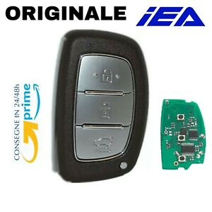 CHIAVE TELECOMANDO AUTO PER HYUNDAI CON ELETTRONICA 4Mhz CHIP PCF7945A PCF7953A