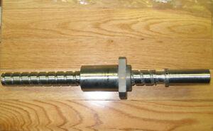 NSK ball screw ballscrew with nut 25mm NEW W2502WF-33P CNC