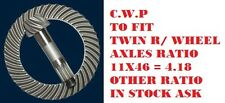 iveco daily twin wheel rear axle  crown wheel & pinion & single wheel in stock