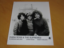 DIANA ROSS & THE SUPREMES - ORIGINAL UK PROMO PRESS PHOTO (A)