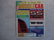 Muscle Car Review 1990 February Hemi, SS 454, Hemi, Cobra Jet, W-30, Ford Fest