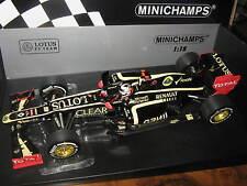 1:18 LOTUS RENAULT e20 K. Räikkönen Abu Dhabi 2012 110120209 Minichamps OVP NEW