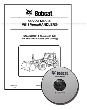 Bobcat V518 VersaHANDLER Workshop Repair Service Manual CD + Download 6986676