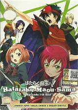 Anime DVD Hataraku Maou-sama ! The Devil Is a Part-Timer Tv 1-13end + Free Gift
