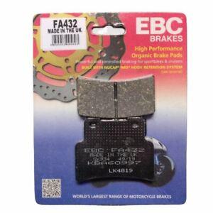 EBC FA432 Organic Replacement Motorcycle Front Brake Pads Yamaha MT-125 14-19