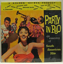 "12"" Vinyl LP Record. Party in Rio. An evening of South American Hits. GGL.0087."