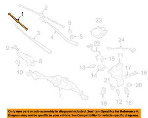 JAGUAR OEM 16-17 XF-Wiper Blade T4N16683