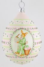 Patricia Breen Medium Egg Charles The Bunny Milaeger's Exclusive