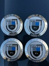 Asanti Wheel Caps (set Of 4) New !