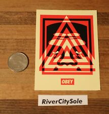 Obey Giant Shepard Fairey Medium Triangle Icon Sticker Decal Andre