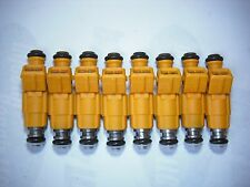 ( Set of 8 ) Flow Matched Refurbished Fuel Injectors # 0280155710 Ford Bosch