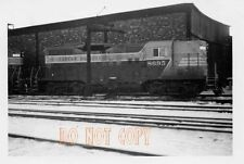 6F669 RP 1957 CANADIAN PACIFIC RAILROAD ENGINE #8695 THREE RIVERS QUEBEC