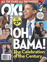 OK! Magazine February 2 2009 Barack Obama Inauguration Beyonce Alison Sweeney
