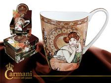 Alphonse Mucha Kaffeebecher TOPAZ Tasse 1.Wahl incl Geschenkkarton 350ml Tasse