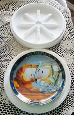 "Jim Davis A Day With Garfield ""Breakfast sure looks fresh"" 1978 Collector Plate"