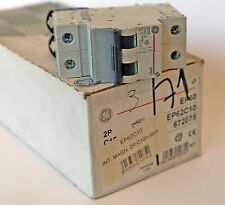Interruttore Magnetotermico 2P 10A 6KA General Electrics EP62C10