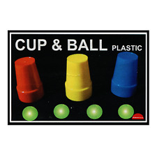 Cups and Balls (Plastic) by Premium Magic from Murphy's Magic