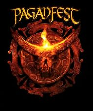 PAGANFEST cd lgo HORNS Official SHIRT 2XL New ensiferum tyr heidevolk trollfest