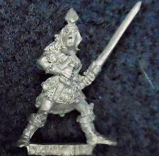 1985 Dark Elf 1101 24 C09 mort Maiden V3 dazibow Citadelle Elfique carton WARHAMMER