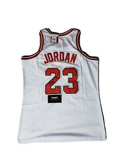 Michael Jordan Signed Autographed Chicago Bulls ROOKIE Jersey COA Size   Medium