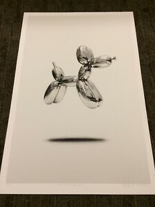 Regan Russell 2018 The Ghost of Jeff Koons Art Print Rare! OBEY Fanakapan