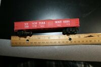 Norfolk Southern  ho scale gondola red RTR w ballast load