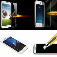 Premium Ultra Clear Tempered Glass LCD Screen Guard Protector Film For Phones