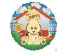 "18"" ""I'm Sorry"" Round Mylar Foil Balloon - Dog House"