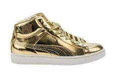 Puma Undefeated Undftd 24K Mid Metallic Gold Liquid Metal White 349567-01 Size10