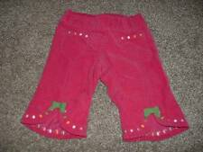 Gymboree Baby Girls Cute as a Mouse Pink Dot Corduroy Pants Size 0-3 months mos