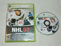NHL 07 (Microsoft Xbox 360, 2006) Disc Case - No Book - Free Shipping Pre-Owned